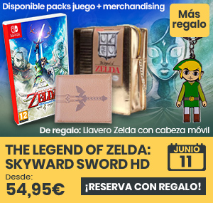 xtralife | Comprar The Legend of Zelda: Skyward Sword HD - Estándar, Pack + Bolso, Pack + Cartera, Pack + Colgante, Pack + Colgante y Bolso, Cartera, Switch.