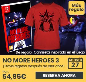 xtralife | Reservar No More Heroes 3 - Switch, Estándar.
