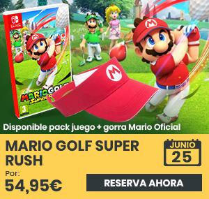 xtralife | Comprar Mario Golf Super Rush - Estándar, Pack + Gorra Deportiva, Gorra, Switch.