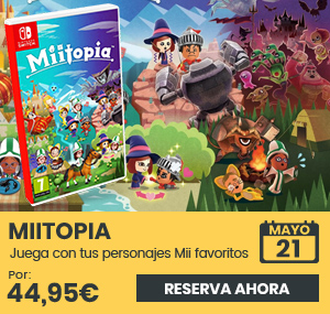 xtralife | Reservar Miitopia - Switch, Estándar.