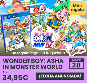 xtralife | Comprar Wonder Boy: Asha in Monster World - Estándar, PS4, Switch.