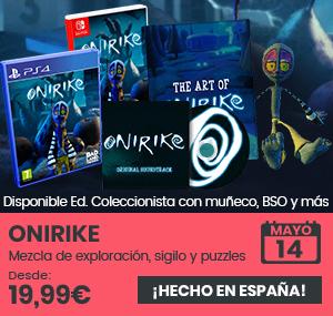 xtralife | Comprar Onirike - Coleccionista, Estándar, PS4, Switch.
