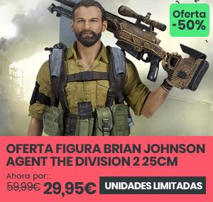 xtralife | Comprar Figura Brian Johnson Agent The Division 2 25cm - Figura.