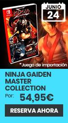 xtralife | Reservar Ninja Gaiden Master Collection - Switch, Estándar - Japón.