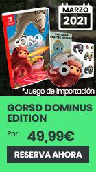 xtralife | Reservar GORSD Edición Dominus - Switch, Limitada | Import.