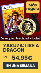 xtralife | Reservar Yakuza: Like a Dragon - PS5, Estándar.