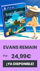 xtralife | Reservar Evans Remain - PS4, Estándar.