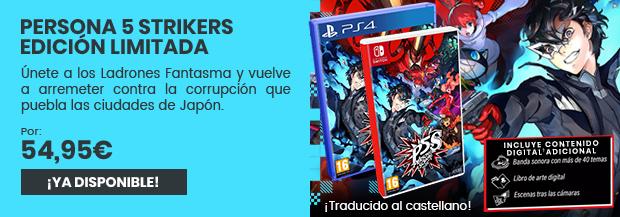 xtralife | Comprar Persona 5 Strikers - Day One, Estándar, Limitada, PS4, Switch.
