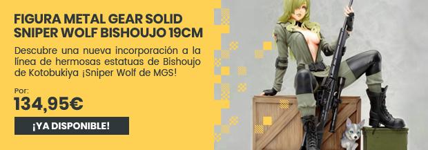 xtralife | Reservar Figura Metal Gear Solid Sniper Wolf Bishoujo 19cm - Estándar, Figura.