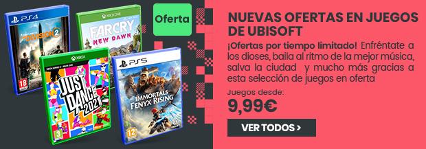 xtralife | Comprar Ofertas Ubisoft Febrero 2021 - Estándar, PS4, PS5, Switch, Xbox One, Xbox Series.