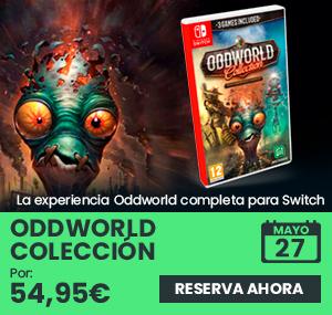 xtralife | Reservar Oddworld Colección - Switch, Estándar.