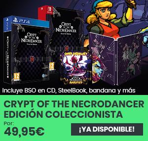 xtralife | Comprar Crypt of the Necrodancer - Coleccionista, Estándar, PS4, Switch.