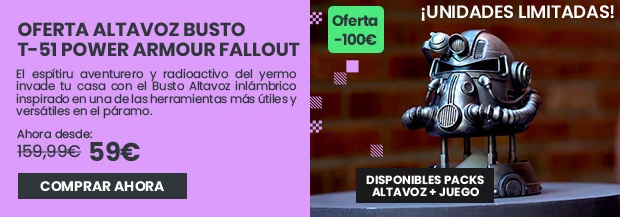xtralife | Comprar Fallout Busto Altavoz T-51 - Pack + Busto Altavoz, Altavoz, PS4, Xbox One.