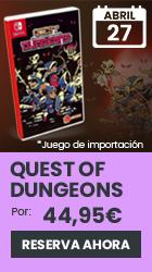 xtralife | Reservar Quest of Dungeons - Switch, Estándar - ASIA.