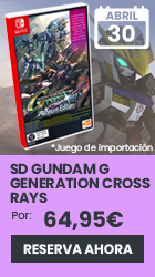 xtralife | Reservar SD Gundam G Generation Cross Rays Edición Platinum - Switch, Complete Edition.
