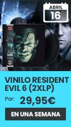 xtralife | Reservar Vinilo Resident Evil 6 Original Soundtrack (2 x LP) - Vinilo, Vinilo Resident Evil 6.