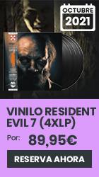 xtralife | Reservar Vinilo Resident Evil 7 Banda Sonora (4 x LP) - Vinilo.