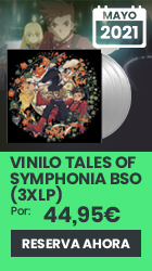 xtralife | Reservar Vinilo Tales of Symphonia Banda Sonora (3 x LP) - Vinilo.