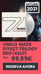 xtralife | Reservar Vinilo Mass Effect Trylogy Banda Sonora (4 x LP) - Vinilo.