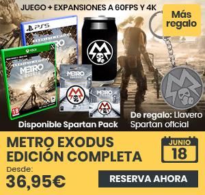 xtralife | Comprar Metro Exodus Edición Completa - Complete Edition, Spartan Pack, PS5, Xbox One, Xbox Series.