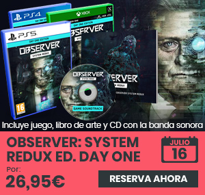 xtralife | Comprar Observer: System Redux Day One - Day One, PS4, PS5, Xbox One, Xbox Series.