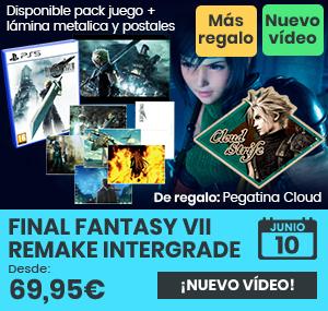 xtralife | Comprar Final Fantasy VII Intergrade - Estándar, Pack merchandising, PS5.