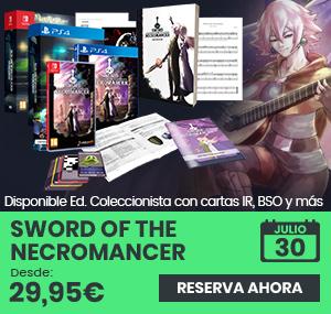 xtralife | Comprar Sword of the Necromancer - Coleccionista, Estándar, PS4, Switch.