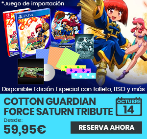 xtralife | Comprar Cotton Guardian Force Saturn Tribute - Estándar, Limitada, PS4, Switch.