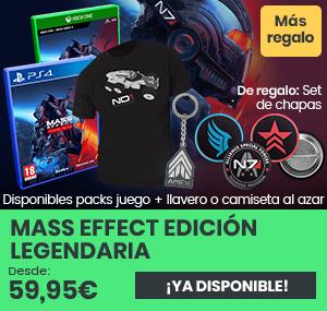 xtralife | Comprar Mass Effect Edición Legendaria - Complete Edition, Complete Edition | Digital, Pack + Camiseta Talla L, Pack + Camiseta Talla M, Pack Llavero, Xbox Live, Vinilo, PS4, Xbox One, Xbox Series.