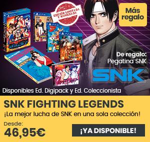 xtralife | Comprar SNK Fighting Legends - Coleccionista, Limitada, PS4.