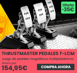 xtralife | Comprar Pedales Thrustmaster T-LCM - PC, PS4, Xbox One, Estándar, Pedales.