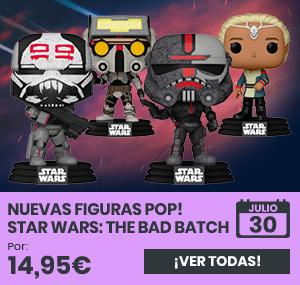 xtralife | Comprar Figuras POP! Star Wars: The Bad Batch - Figura.
