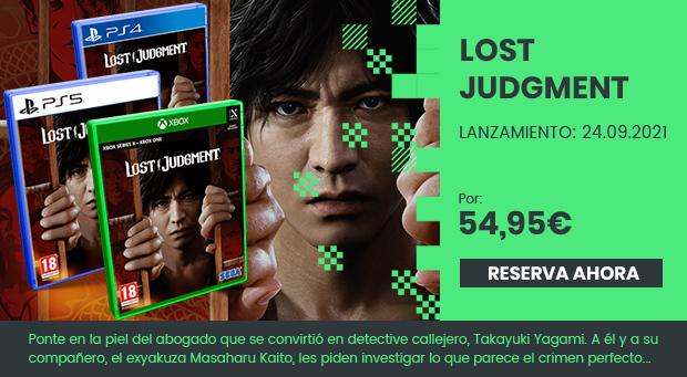 xtralife | Comprar Lost Judgment - Estándar, PS4, PS5, Xbox One, Xbox Series.