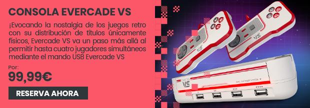 xtralife | Reservar Consola Evercade VS.