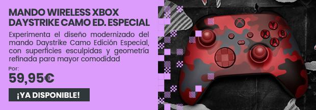 xtralife | Comprar Mando Wireless Daystrike Camo Edición Especial - Xbox Series, Xbox One, PC, Mandos, Oficial Microsoft.