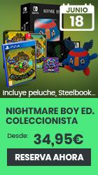 xtralife | Comprar Nightmare Boy - Coleccionista, Estándar, PS4, Switch.