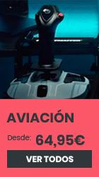 xtralife | Comprar Thrustmaster Aviación Catálogo - Estándar, PC, PS3, PS4, Xbox One, Flightsticks, Joysticks, Mandos, Mandos y Volantes, Pedales.