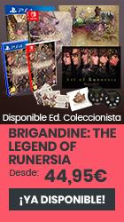 xtralife | Comprar Brigandine: The Legend of Runersia - Coleccionista, Estándar, PS4, Switch.