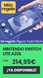 xtralife | Comprar Nintendo Switch Lite Azul - Switch, Versión Azul.