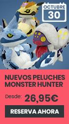 xtralife | Comprar Peluches Monster Hunter - Magnamalo Chib, Palamute Chibi, Palico Chibi.