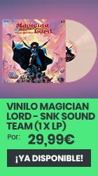 xtralife | Comprar Vinilo Magician Lord - SNK Sound Team (1 x LP) - Vinilo.