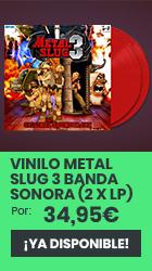 xtralife | Comprar Vinilo Metal Slug 3 Banda Sonora (2 x LP) - Vinilo.