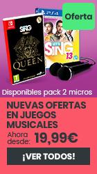 xtralife | Comprar Oferta en juegos Musicales - Day One, Estándar, Pack Micrófonos, DS, PS4, PS5, Switch, Wii U, Xbox One.