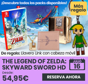 xtralife   Comprar The Legend of Zelda: Skyward Sword HD - Estándar, Pack + Bolso, Pack + Cartera, Pack + Colgante, Pack + Colgante y Bolso, Pack + Póster, Cartera, Switch