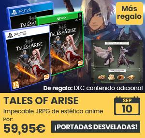 xtralife   Comprar Tales of Arise - Coleccionista, Estándar, PC, PS4, PS5, Xbox One, Xbox Series