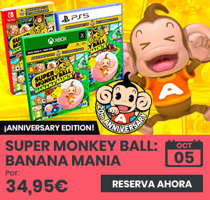 xtralife   Comprar Super Monkey Ball: Banana Mania - Day One, PS4, PS5, Switch, Xbox Series