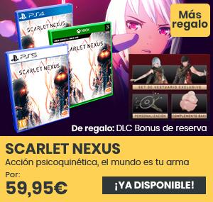 xtralife   Comprar Scarlet Nexus - Estándar, PS4, PS5, Xbox Series