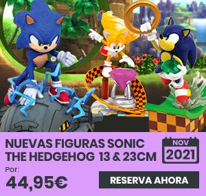 xtralife   Comprar Merchandising Mundo Sonic the Hedgehog - Estándar, Sonic, Tails, Sonic Running, Figura
