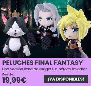 xtralife   Comprar Merchandising Final Fantasy - Cait Sith 14cm, Cloud 15cm, Sephiroth 13cm, Sephiroth 16cm, Sephiroth 18cm, Peluche