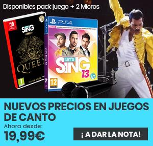 xtralife   Comprar Rebajas en juegos de cantar - Estándar, Pack Micrófonos, PS4, Switch